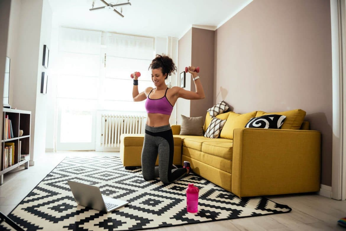 personal trainer on-line