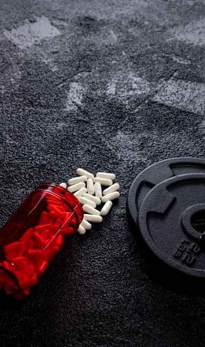 capsulas ou exercícios com peso?